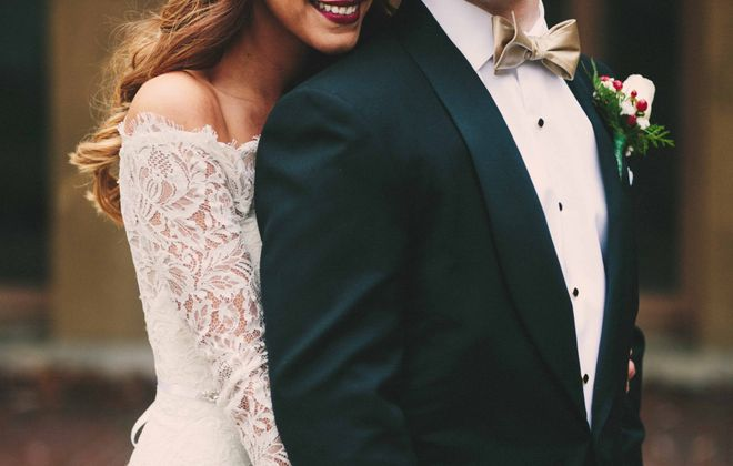 Carly Neal and Jordan Ross marry