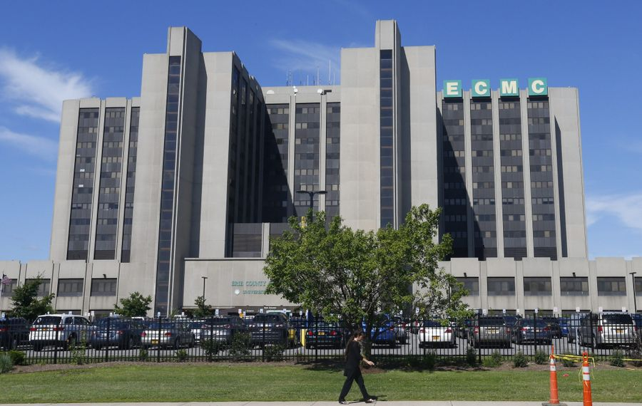 Thomas J. Quatroche Jr. takes over at ECMC after months of tumult. (Mark Mulville/Buffalo News file photo)
