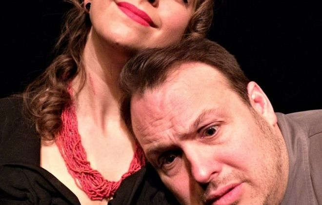 """Speak No Evil,"" starring Emily Yancey and Joey Bucheker, is on stage at Alleyway Theatre."