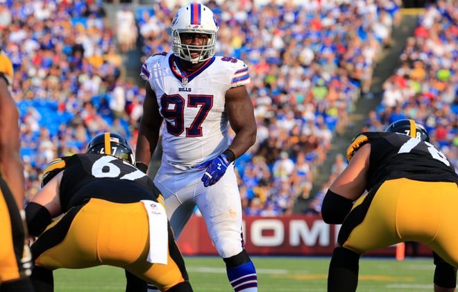Corbin Bryant did a serviceable job for the Bills and is a quality veteran presence in the locker room. (Harry Scull Jr./Buffalo News)