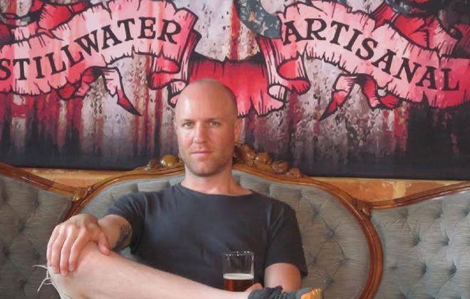 Brian Strumke, founder-owner-brewer from Stillwater Artisanal Ales in Maryland.