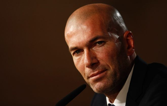 One of the best soccer players in history, Zinedine Zidane, has taken the reins at Real Madrid. (Getty Images)