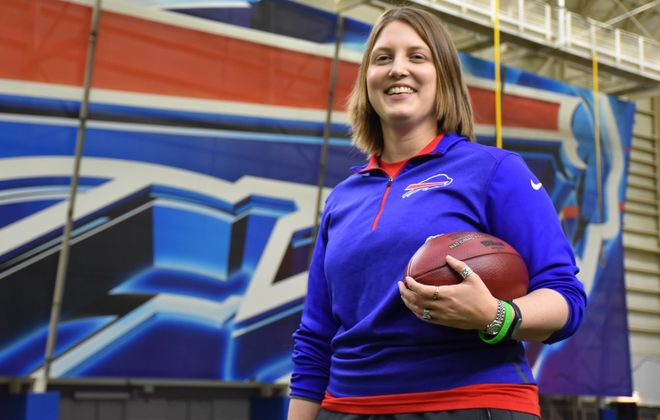 New Bills special teams quality control coach Kathryn Smith is one of the talking points on Sports Talk Sunday.