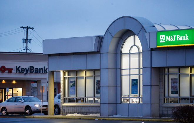 The region's banking scene will look a lot different in 2016 with KeyBank's expected merger with First Niagara. (Derek Gee/Buffalo News)