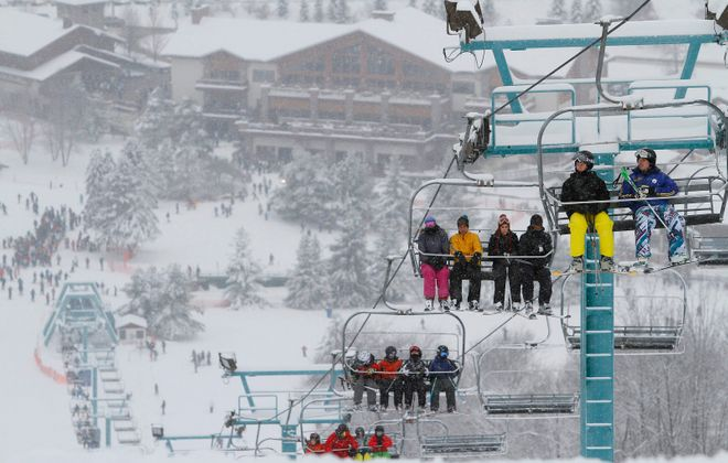 Eligible veterans can enjoy a day of free skiing on Friday at Holiday Valley Resort in Ellicottville. (Mark Mulville/News file photo)