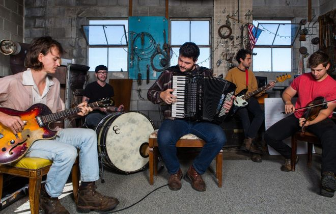 The Felice Brothers will perform Feb. 12 in the Tralf Music Hall.