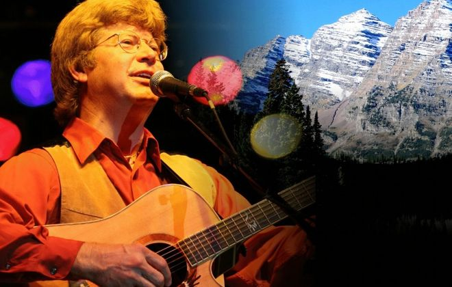 Jim Curry evokes memories of John Denver.