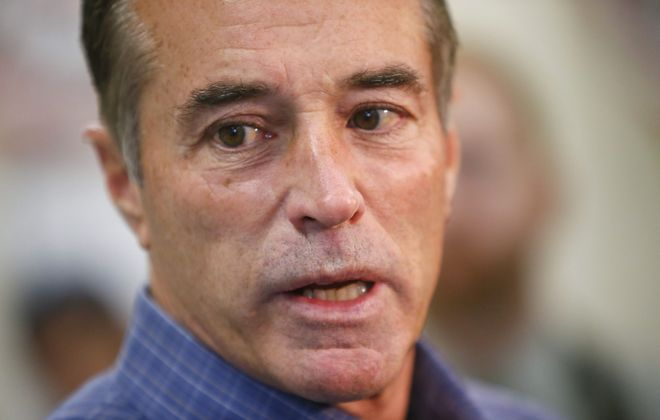 """""""We need a president willing to make the tough decisions necessary to restore our country to greatness,"""" Rep. Chris Collins said in his statement. """"I believe Donald Trump is the man for the job, and I am proud to provide him with my support."""""""