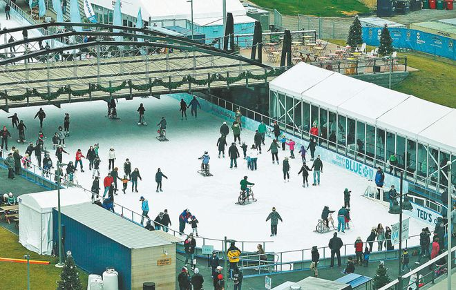 New attractions like Canalside helped spur a banner year for tourism in Buffalo Niagara.