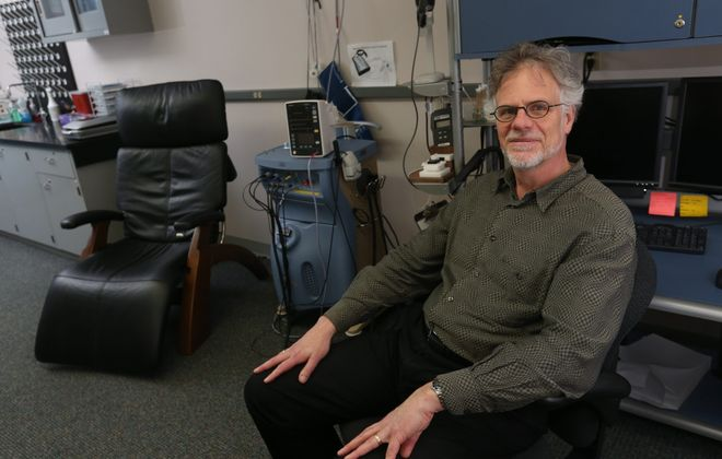 """""""Pain can be a symptom of disease. Pain also can be the primary disorder."""" – Dr. Richard Ohrbach, associate professor, and director of the University at Buffalo Center for Orofacial Pain Research, which includes a neurosensory lab to assess how a research subject's pain system responds."""