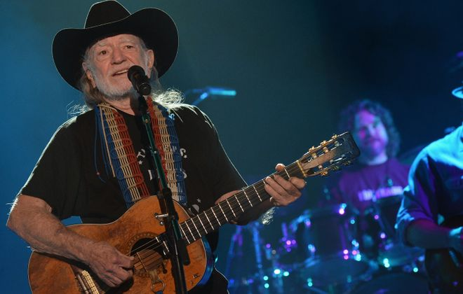 Willie Nelson performing George Gershwin's music seems to be an uncomfortable fit, writes Jeff Simon. (Getty Images)