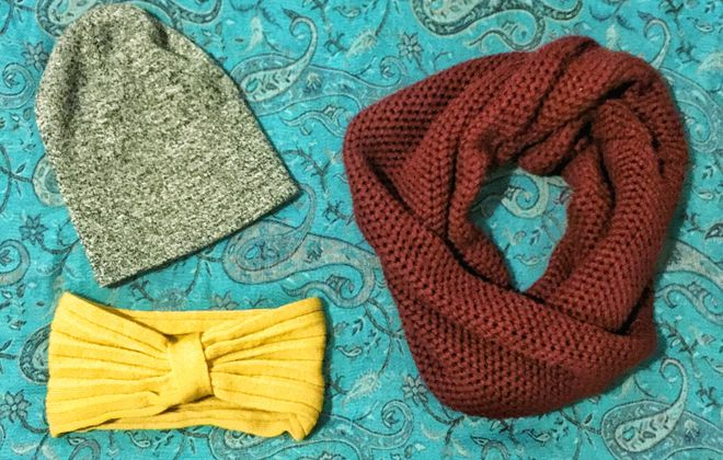 During the winter, color your world with accessories