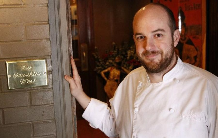 Rue Franklin chef-owner will offer congregants cassoulet, oysters and veal brains at Midnight Mass. (Sharon Cantillon/Buffalo News file photo)