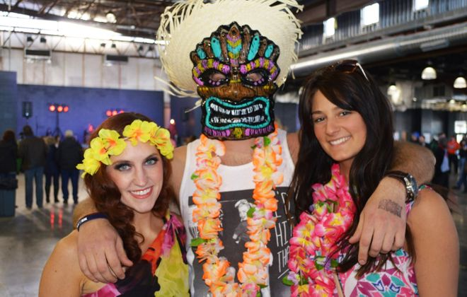 Get tropical at the Madd Tiki Winter Luau this weekend at Buffalo RiverWorks. (Cody Osborne/Special to The News)