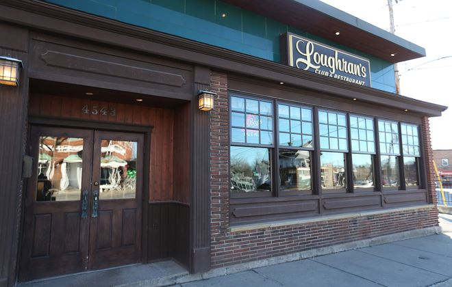 Loughran's, at 4543 Main St., is hosting the Erie County Democrats' official DNC watch party Friday night.  (Sharon Cantillon/Buffalo News)