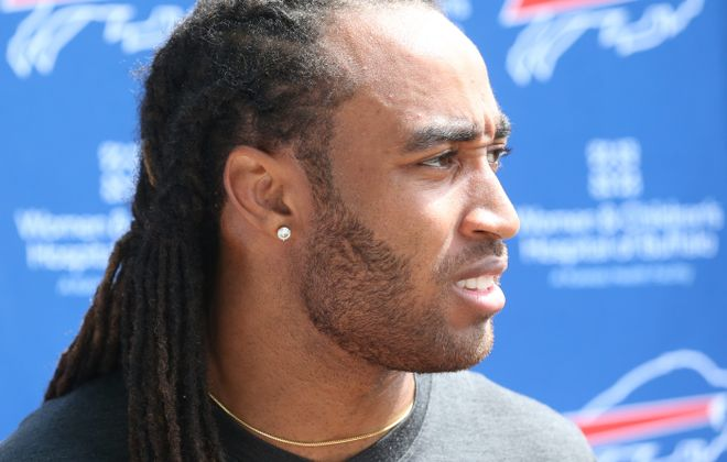 Stephon Gilmore said he doesn't want to negotiate his contract once the season begins. (James P. McCoy/ Buffalo News)
