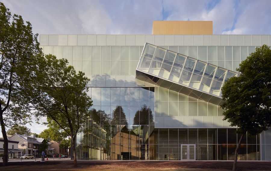 The recently opened Pierre Lassonde Pavilion in Quebec City, designed by the Office for Metropolitan Architecture, sits at the edge of a large city park on the campus of the Quebec Museum of Fine Arts. Though reactions to the new space have been mixed, with some disliking its modern design, others welcome the museum's jump into the future.