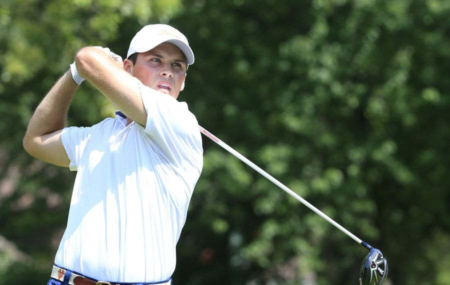 Gavin Hall has quite a cushion as he heads for the fourth and final round of the Porter Cup.
