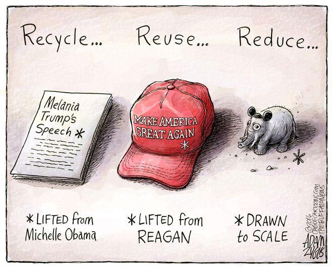 Melania Trump speech