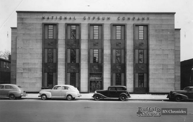 What it looked like Wednesday: National Gypsum Headquarters, 1942