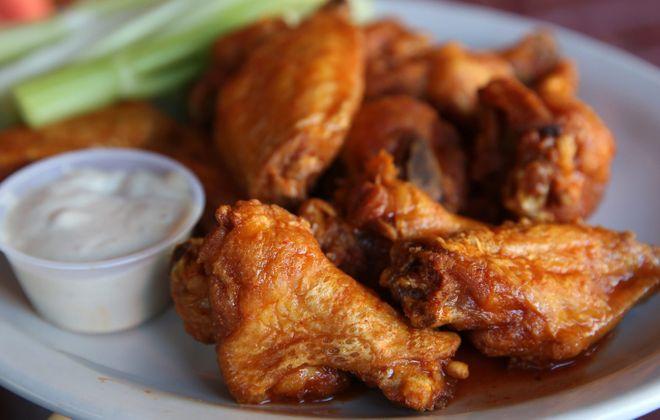 The famous Anchor Bar wings. (Sharon Cantillon/News file photo)