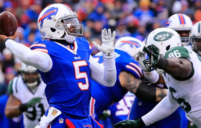 Tyrod Taylor has a history with new Bills offensive coordinator Rick Dennison. (Harry Scull Jr./Buffalo News file photo)