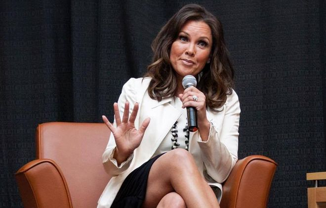 Among Vanessa Williams' local appearances in recent years was speaking at a  Leadership Niagara luncheon. (Photo by Mike Freedman)