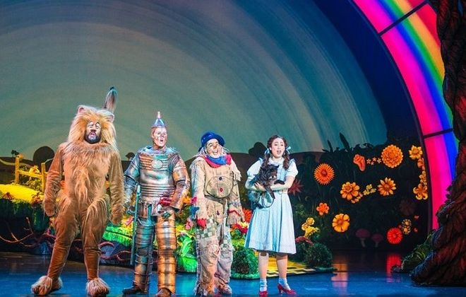 """A colorful new production of """"The Wizard of Oz"""" is on stage at Shea's Performing Arts Center through April 10."""