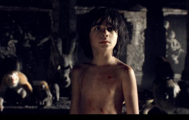 "Neel Sethi is Mowgli in Disney's new version of ""The Jungle Book."""
