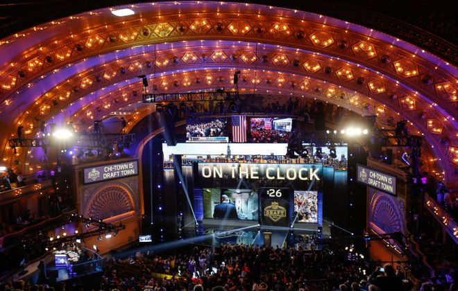 The NFL Draft is set to return to the Auditorium Theatre of Roosevelt University in Chicago.  (Getty Images)
