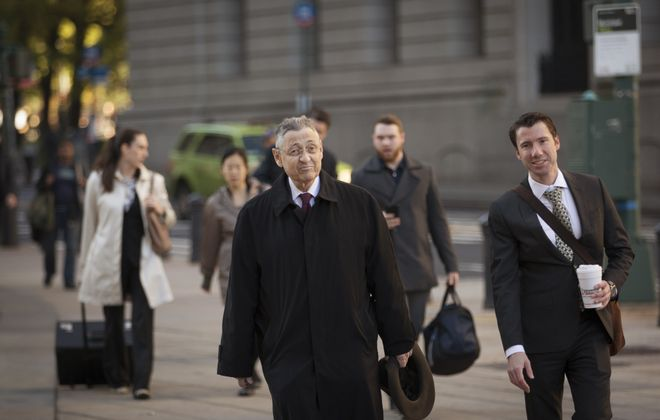 Former New York State Assembly Speaker Sheldon Silver was convicted of seven corruption charges. (New York Times file photo)
