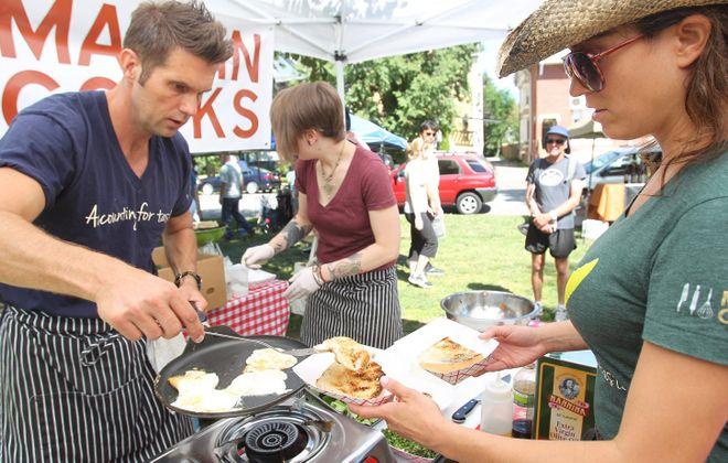 Martin Danilowicz, left, has plans to open his second restaurant. (Sharon Cantillon/Buffalo News file photo)