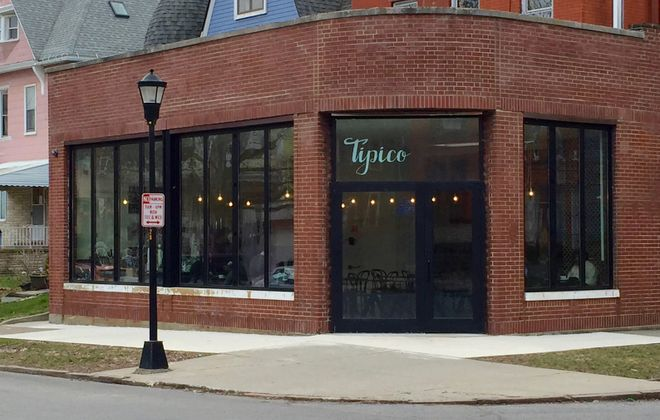 The outside of Tipico Coffee at 128 Fargo Ave. (Alex Mikol/Special to The News)