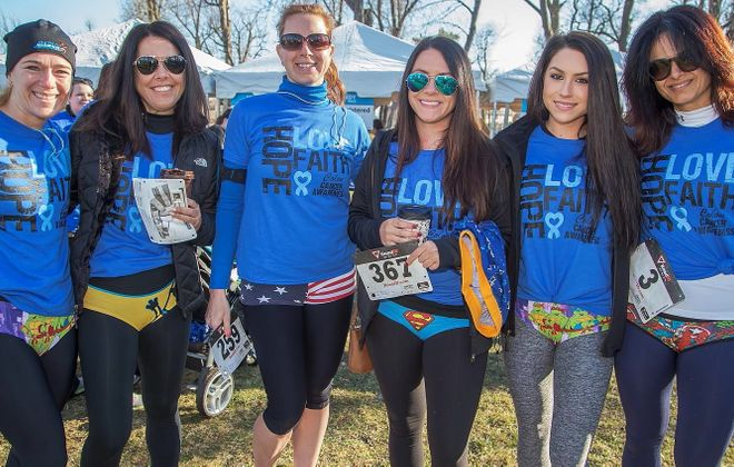 The Undy Run raises money for the Colon Cancer Alliance. (Don Nieman/Special to The News)