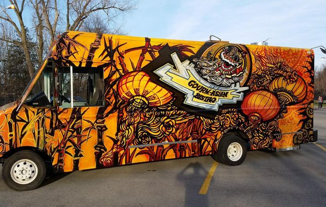 Gourm-Asian Bistro food truck will bring Pacific Rim flavors to Buffalo. (Photo/Gourm-Asian Bistro)
