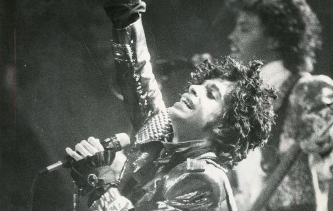 Prince plays to a full house at Memorial Auditorium in December 1984. (Buffalo News archives)