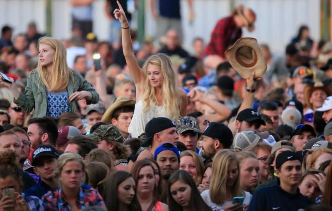 Music fans will have at least 20 concerts to attend at the Darien Lake Amphitheater this summer.  (Harry Scull Jr./News file photos)