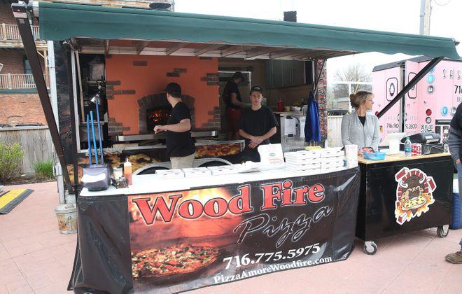 Pizza Amore posts up at Food Truck Tuesday. (Sharon Cantillon/Buffalo News file photo)
