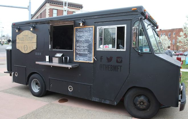 The Black Market Food Truck owners opened Marble + Rye, a brick and mortar restaurant, in 2015. (Sharon Cantillon/Buffalo News)