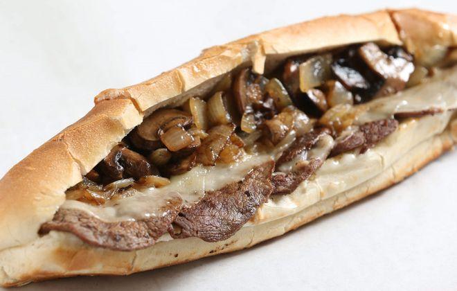 David's Steak Hoagy in Niagara Falls makes the list with its tenderloin hoagy. (Sharon Cantillon/Buffalo News)