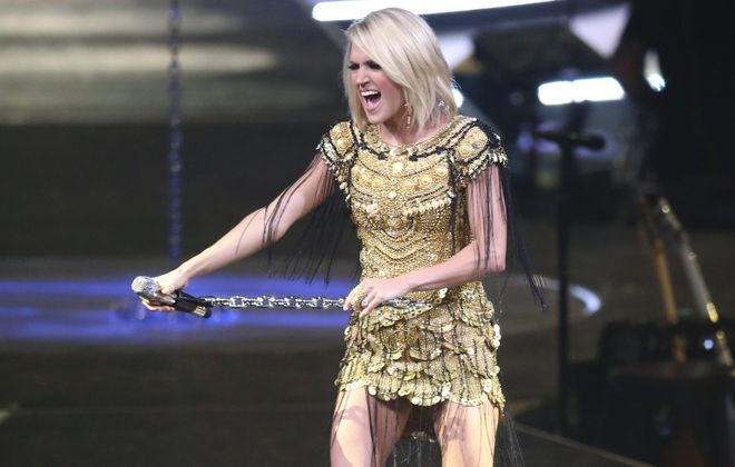 Carrie Underwood will perform in Buffalo in October of 2019. (Sharon Cantillon/News file photo)