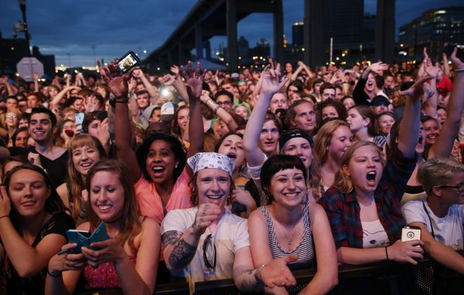 Music fans headed to the popular Thursday evening concerts at Canalside, now called Canalside Live! will have to pay $5. (Sharon Cantillon/Buffalo News file photo)