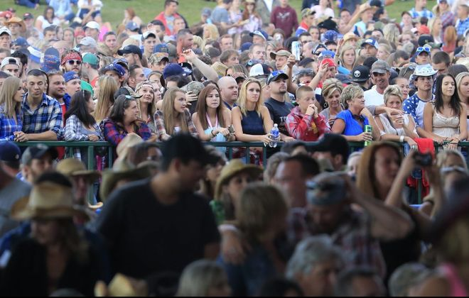 Arrive early for concerts at Darien Lake to avoid traffic congestion. (Harry Scull Jr./Buffalo News file photo)