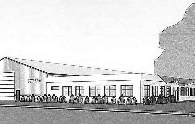 The planned North Tonawanda headquarters for Ivy Lea Construction is shown in this rendering. Ivy Lea will break ground Thursday on the 10,000-square-foot building.