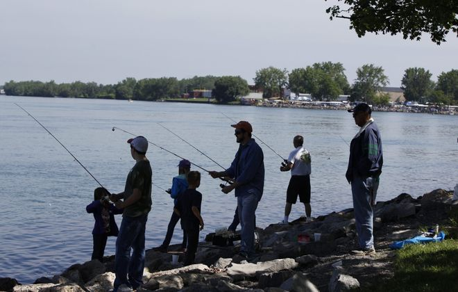Fishermen and hunters ages 8-16 are being sought for a study. (Harry Scull Jr./Buffalo News)