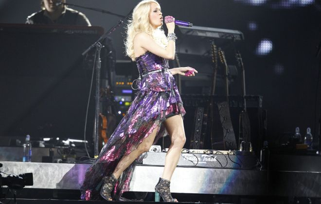 Carrie Underwood returns to the First Niagara for a concert on May 24. (Harry Scull Jr. / Buffalo News file photo)
