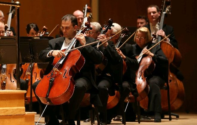 The Buffalo Philharmonic Orchestra is giving away tickets to government workers and military personnel affected by the government shut down.  (Sharon Cantillon/Buffalo News file photo)