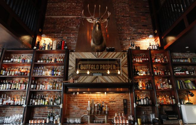 Buffalo Proper's bar pictured in 2016. (Sharon Cantillon/Buffalo News)