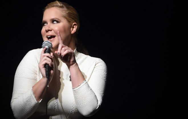 Amy Schumer will perform in the First Niagara Center. (Getty Images)