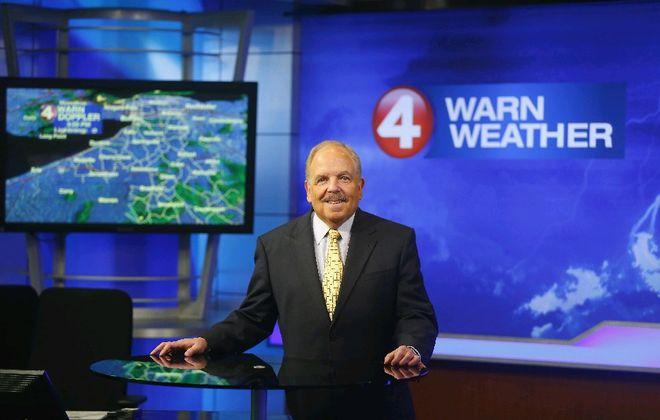 Longtime local TV  meteorologist Don Paul will begin writing for The Buffalo News. (Mark Mulville/Buffalo News)